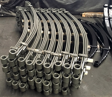 Ремонт и изготовление грузовых рессор различных типов