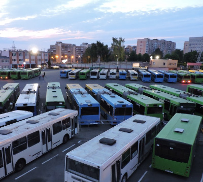 Комплексное обслуживание автобусных парков